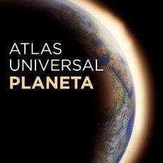 Libros: ATLAS UNIVERSAL PLANETA 1:5000000 NUEVO EDICIÓN COMPACTA. Lote 202774290
