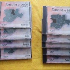 Libros: GUÍA VIRTUAL CASTILLA Y LEÓN CD ROM. Lote 205313525