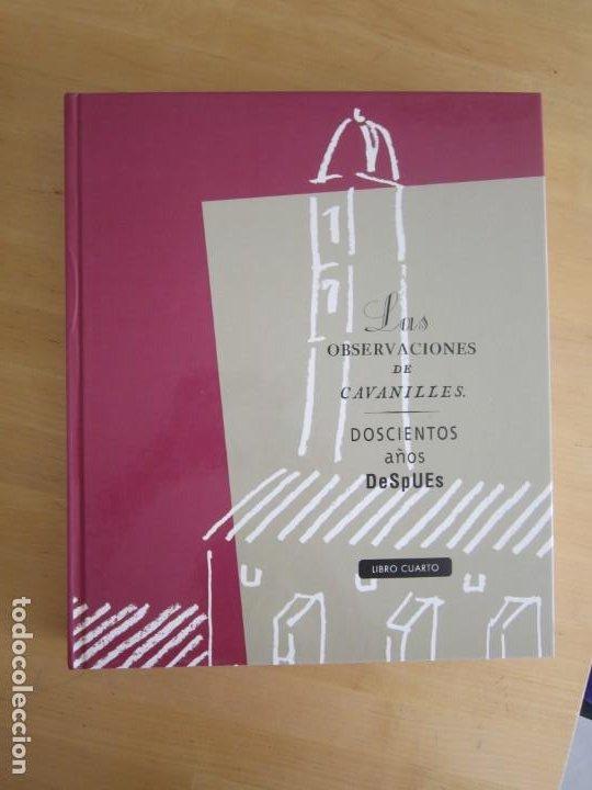 Libros: Las observaciones de Cavanilles. Doscientos años después. Completo Castellano 4 tomos -OFERTA!! - Foto 3 - 205402066