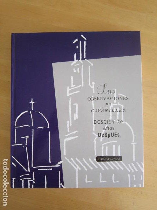 Libros: Las observaciones de Cavanilles. Doscientos años después. Completo Castellano 4 tomos -OFERTA!! - Foto 4 - 205402066