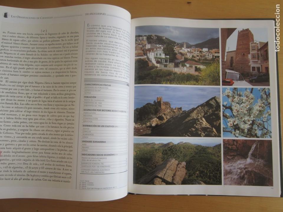 Libros: Las observaciones de Cavanilles. Doscientos años después. Completo Castellano 4 tomos -OFERTA!! - Foto 9 - 205402066