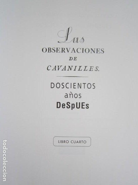 Libros: Las observaciones de Cavanilles. Doscientos años después. Completo Castellano 4 tomos -OFERTA!! - Foto 15 - 205402066