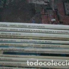 Libros: ATLAS GRÁFICO DE ESPAÑA PROVINCIAS. 15 VOLÚMENES. Lote 205527370