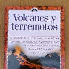 Libros: VOLCANES Y TERREMOTOS - GUÍA DEL ESTUDIANTE - GENIOS. Lote 211668634