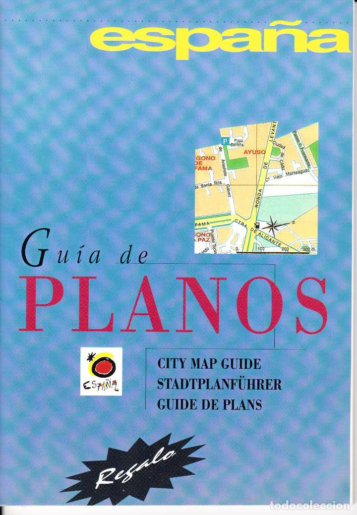 ESPAÑA. GUÍA DE PLANOS. (Libros Nuevos - Humanidades - Geografía)