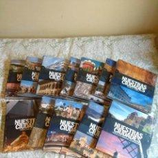 Libros: NUESTRAS CIUDADES. EDITORIAL SIGNO. 12 VOLÚMENES. Lote 218309051