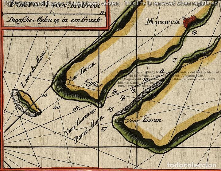 Libros: Cartografia antiga del Port de Maó i el Castell de Sant Felip. Volum 1: 1575-1756 (Mahon-Menorca) - Foto 4 - 207290521