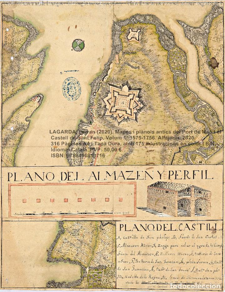 Libros: Cartografia antiga del Port de Maó i el Castell de Sant Felip. Volum 1: 1575-1756 (Mahon-Menorca) - Foto 7 - 207290521