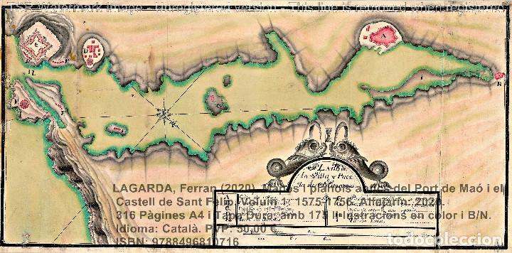 Libros: Cartografia antiga del Port de Maó i el Castell de Sant Felip. Volum 1: 1575-1756 (Mahon-Menorca) - Foto 9 - 207290521