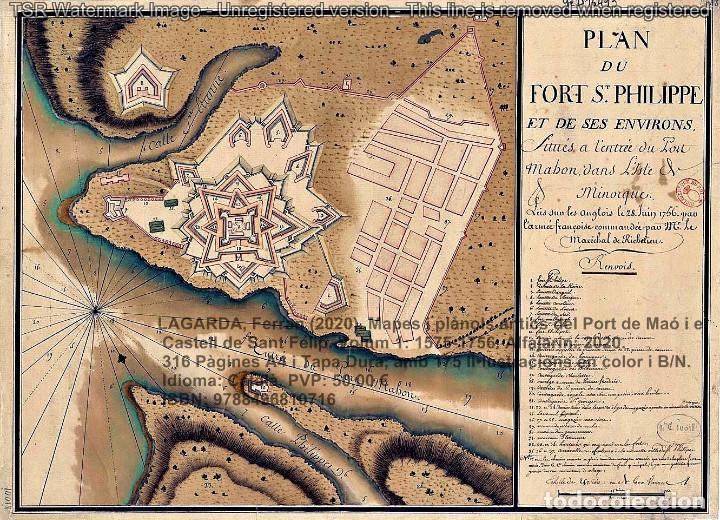 Libros: Cartografia antiga del Port de Maó i el Castell de Sant Felip. Volum 1: 1575-1756 (Mahon-Menorca) - Foto 16 - 207290521