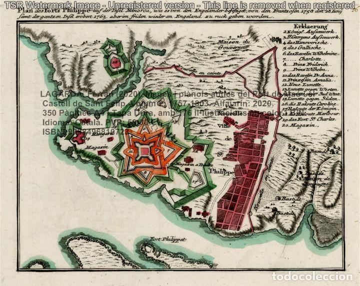 Libros: Cartografia antiga del Port de Maó i el Castell de Sant Felip. Volum 2: 1757-1803. (Mahon-Menorca) - Foto 5 - 207290678