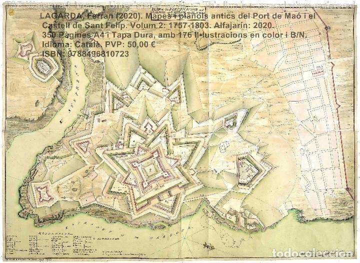Libros: Cartografia antiga del Port de Maó i el Castell de Sant Felip. Volum 2: 1757-1803. (Mahon-Menorca) - Foto 6 - 207290678