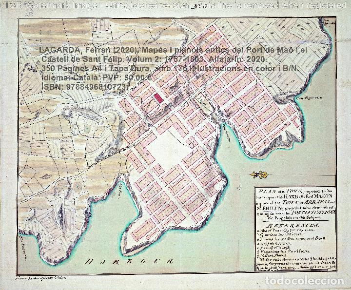 Libros: Cartografia antiga del Port de Maó i el Castell de Sant Felip. Volum 2: 1757-1803. (Mahon-Menorca) - Foto 7 - 207290678