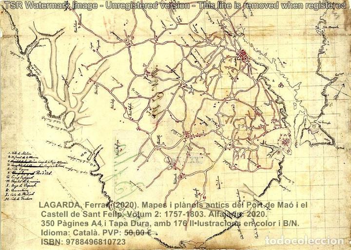 Libros: Cartografia antiga del Port de Maó i el Castell de Sant Felip. Volum 2: 1757-1803. (Mahon-Menorca) - Foto 9 - 207290678