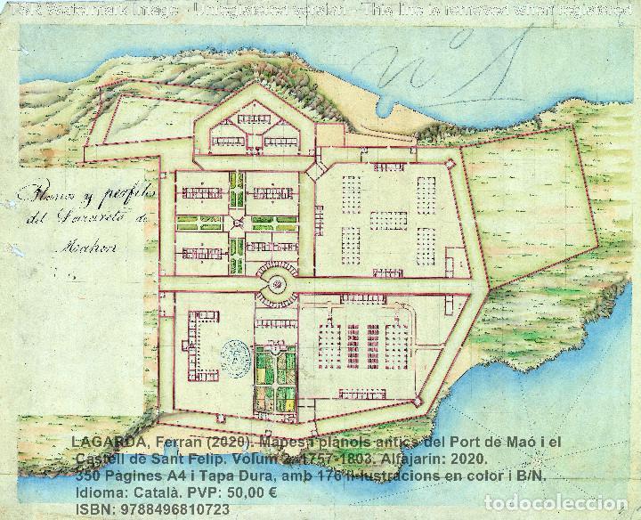 Libros: Cartografia antiga del Port de Maó i el Castell de Sant Felip. Volum 2: 1757-1803. (Mahon-Menorca) - Foto 11 - 207290678