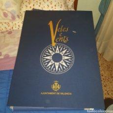 Libros: JUEGO DE CARTOGRAFÍA VELES E VENTS. Lote 231776735
