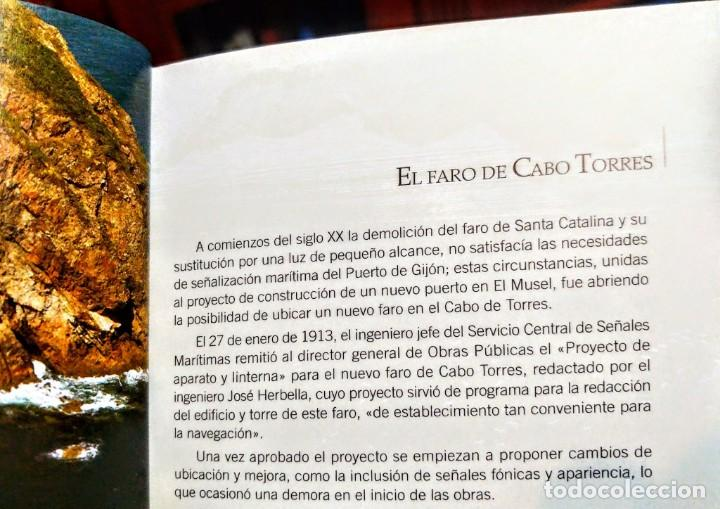 Libros: EL CABO TORRES Y EL PUERTO DE EL MUSEL.25 siglos de historia.71 páginas. 22 x 12 cm - Foto 3 - 233293045