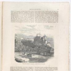 Libros: SEGOVIA. CRONICA DE LA PROVINCIA. 1867. Lote 234670715