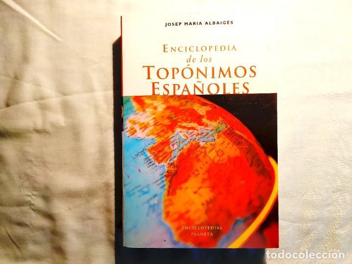 DICCIONARIO PLANETA DE TOPÓNIMOS ESPAÑOLES - NUEVO (Libros Nuevos - Humanidades - Geografía)