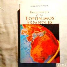 Libros: DICCIONARIO PLANETA DE TOPÓNIMOS ESPAÑOLES - NUEVO. Lote 243891765
