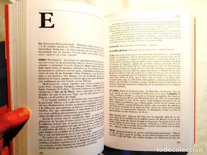 Libros: DICCIONARIO PLANETA DE TOPÓNIMOS ESPAÑOLES - NUEVO - Foto 2 - 243891765