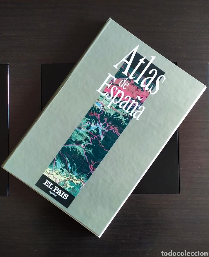 """Libros: ATLAS DE ESPAÑA (1992); """" EL PAIS """"; Editorial Aguilar. Sin Encuadernar. Completo. - Foto 2 - 245015290"""