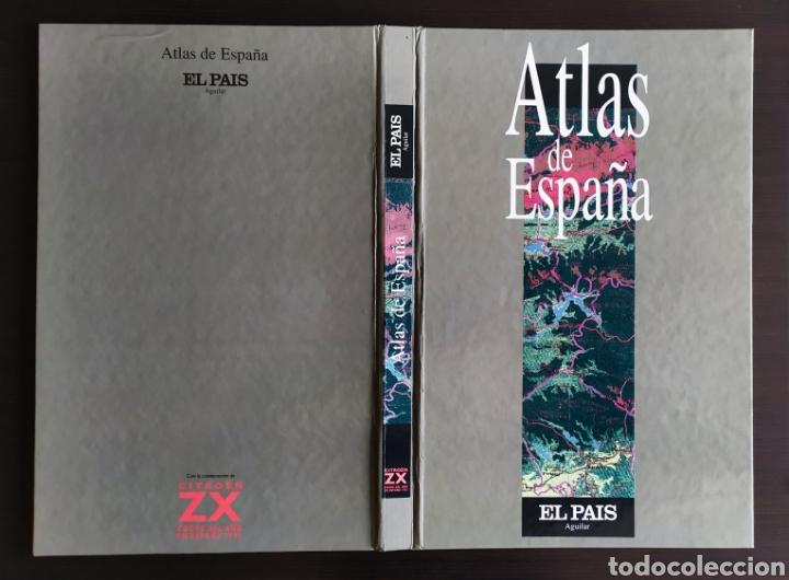 """Libros: ATLAS DE ESPAÑA (1992); """" EL PAIS """"; Editorial Aguilar. Sin Encuadernar. Completo. - Foto 3 - 245015290"""