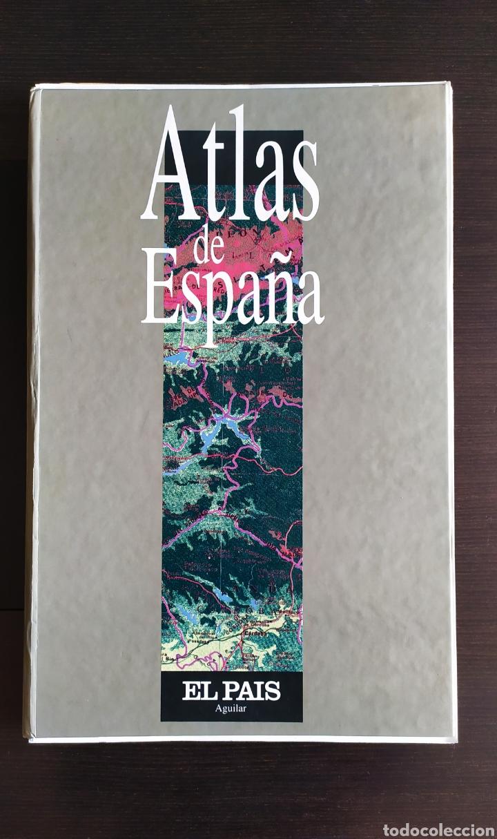"""Libros: ATLAS DE ESPAÑA (1992); """" EL PAIS """"; Editorial Aguilar. Sin Encuadernar. Completo. - Foto 4 - 245015290"""