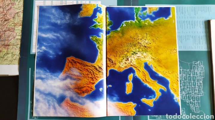 """Libros: ATLAS DE ESPAÑA (1992); """" EL PAIS """"; Editorial Aguilar. Sin Encuadernar. Completo. - Foto 7 - 245015290"""