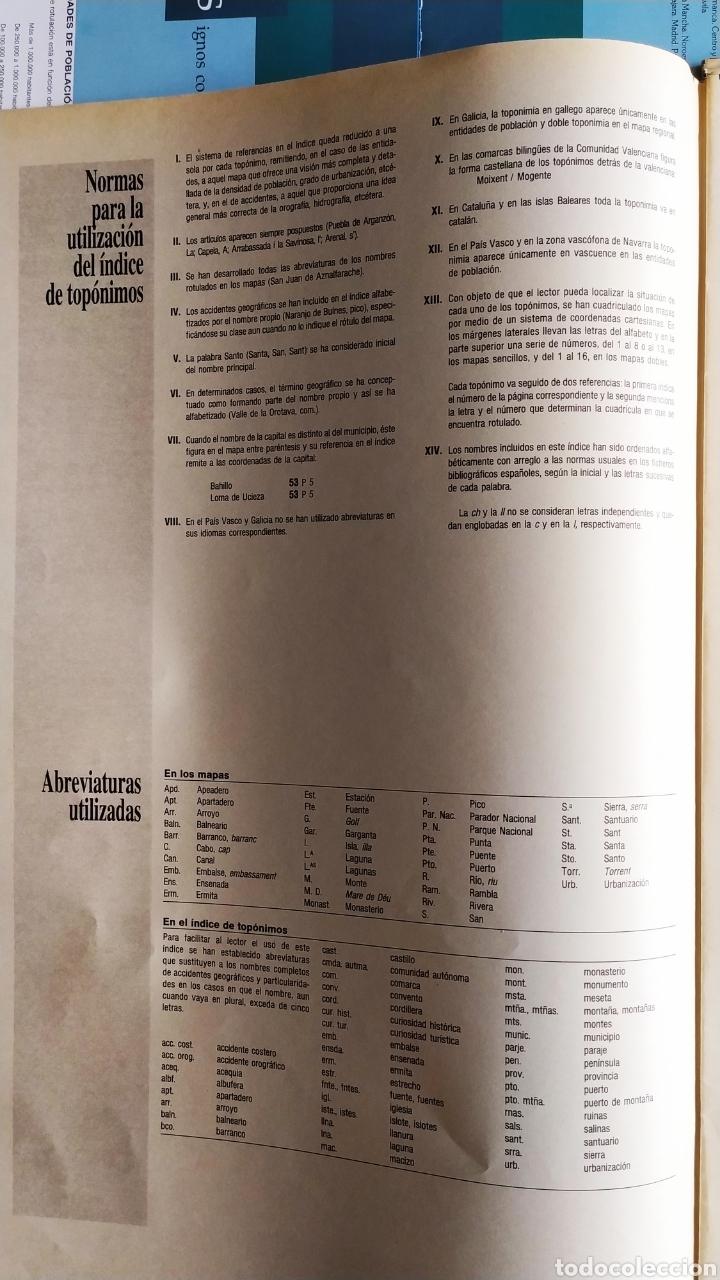 """Libros: ATLAS DE ESPAÑA (1992); """" EL PAIS """"; Editorial Aguilar. Sin Encuadernar. Completo. - Foto 9 - 245015290"""