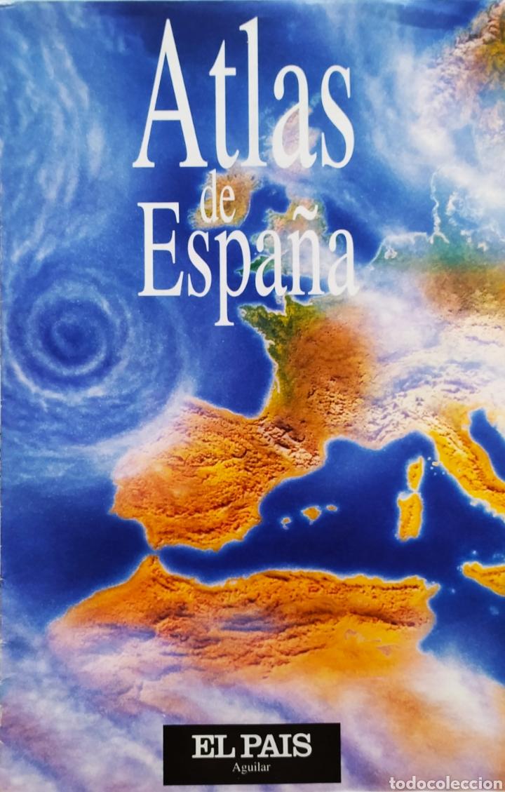 """Libros: ATLAS DE ESPAÑA (1992); """" EL PAIS """"; Editorial Aguilar. Sin Encuadernar. Completo. - Foto 15 - 245015290"""