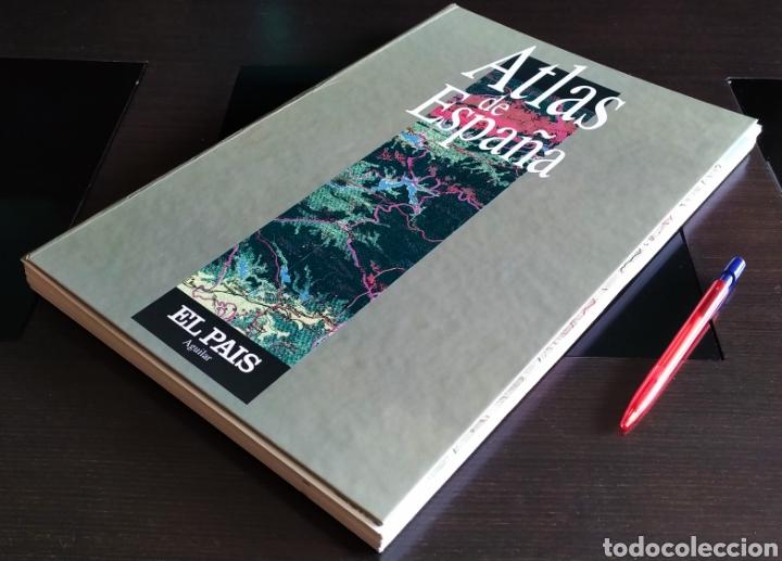 """Libros: ATLAS DE ESPAÑA (1992); """" EL PAIS """"; Editorial Aguilar. Sin Encuadernar. Completo. - Foto 19 - 245015290"""
