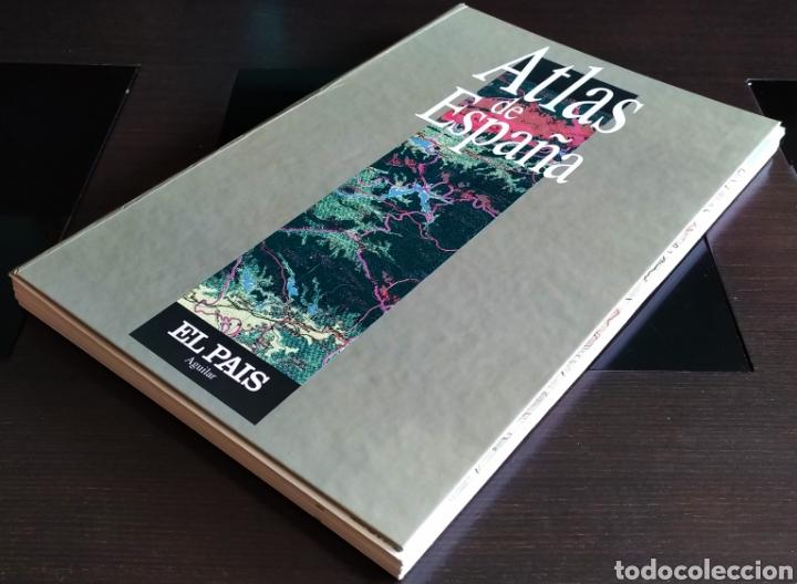 """ATLAS DE ESPAÑA (1992); """" EL PAIS """"; EDITORIAL AGUILAR. SIN ENCUADERNAR. COMPLETO. (Libros Nuevos - Humanidades - Geografía)"""