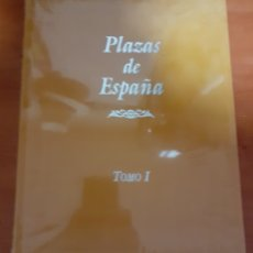 Libros: 2 LIBROS PLAZAS DE ESPAÑA CERTIFICADO DE EDIFICACIÓN. Lote 248569140