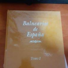 Libros: 2 LIBROS BALNEARIOS DE ESPAÑA. Lote 248569990