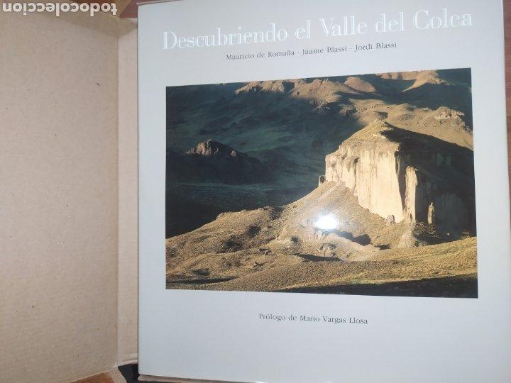 DESCUBRIENDO EL VALLE DEL COLCA, PERÚ. PRÓLOGO DE MARIO VARGAS LLOSA (Libros Nuevos - Humanidades - Geografía)