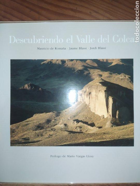 Libros: Descubriendo el Valle del Colca, Perú. Prólogo de Mario Vargas Llosa - Foto 2 - 248758135