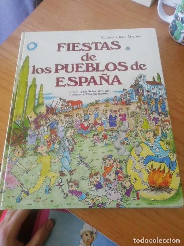 Libros: Fiestas de los pueblos de España - Foto 2 - 256005035