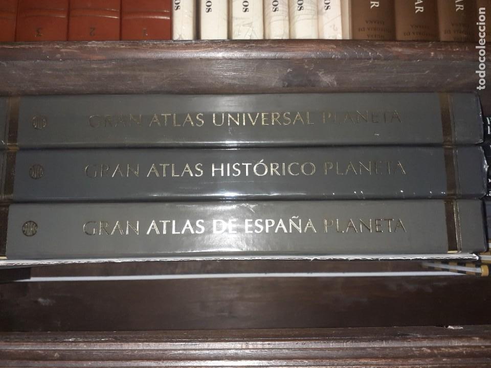 Libros: Atlas de editorial Planeta - Foto 2 - 210549206