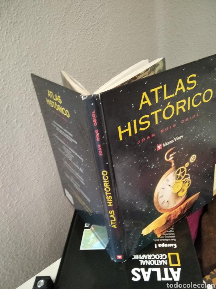 Libros: 3: impecables libros , Atlas Europa Atlas Histórico - Foto 4 - 256155130