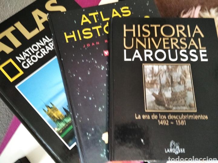 3: IMPECABLES LIBROS , ATLAS EUROPA ATLAS HISTÓRICO (Libros Nuevos - Humanidades - Geografía)