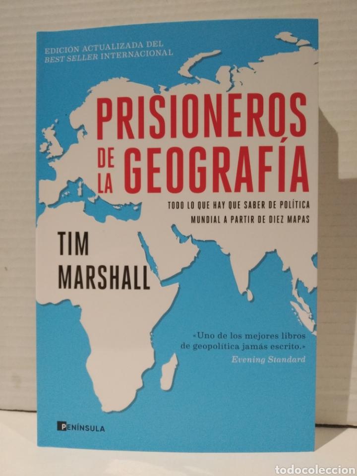 PRISIONEROS DE LA GEOGRAFIA: TODO LO QUE HAY QUE SABER DE POLITICA MUNDIAL A TRAVES DE DIEZ MAPAS (Libros Nuevos - Humanidades - Geografía)