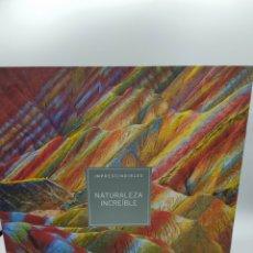 Libros: NATURALEZA INCREIBLE. LIBRO + 2DVS+ PENDRIVE. Lote 258979555