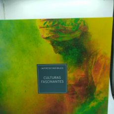 Libros: IMPRECINDIBLES CULTURAS FASCINANTES. LIBRO+2DVS. Lote 258991675