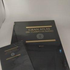 Libros: GRAN ATLAS DEL CUERPO HUMANO LIBRO MÁS DVD. Lote 258996490