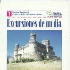 Libros: EXCURSIONES DE UN DIA LA INFORMACIÓN DE MADRID. Lote 269650098