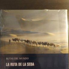 Libros: LA RUTA DE LA SEDA, RUTAS DEL MUNDO. EDITORIAL PLANETA. NUEVO. Lote 269850013