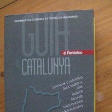 Libros: GUIA DE CATALUNYA EL PERIODICO. Lote 270632673