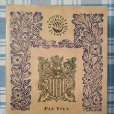 Libros: RESUM DE GEOGRAFIA DE CATALUNYA, POR PAU VILA. Lote 272121693