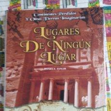 Libros: LUGARES DE NINGÚN LUGAR. DANIEL E. TANGIR.. Lote 274915593